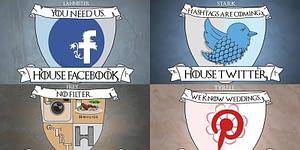 Toppbild Om sociala medier var Game of Thrones