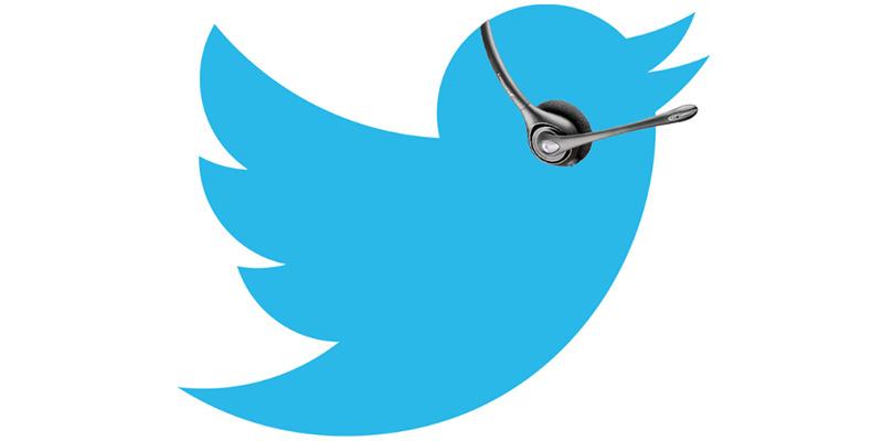 Toppbild Twitter kundtjänst