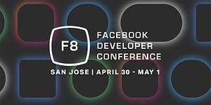 Officiella bilden för Facebooks F8-konferens 2019