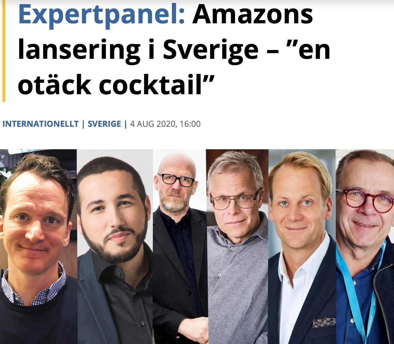 Varfor Ar Det Bara Man Som Ar Experter Pa Amazon Ola Andersson